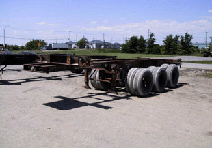 20′ Triaxle Chassis