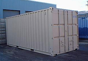 20′ New Standard ISO Dry Van Container
