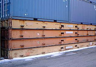 40′ Platform Shipping Container
