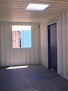 20′ Modified Shipping Container