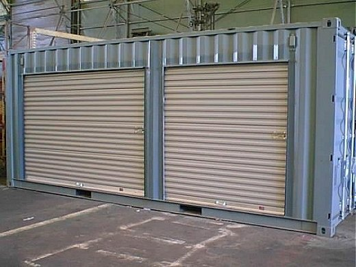 20′ Basic Modified Shipping Container with Roll Up Doors