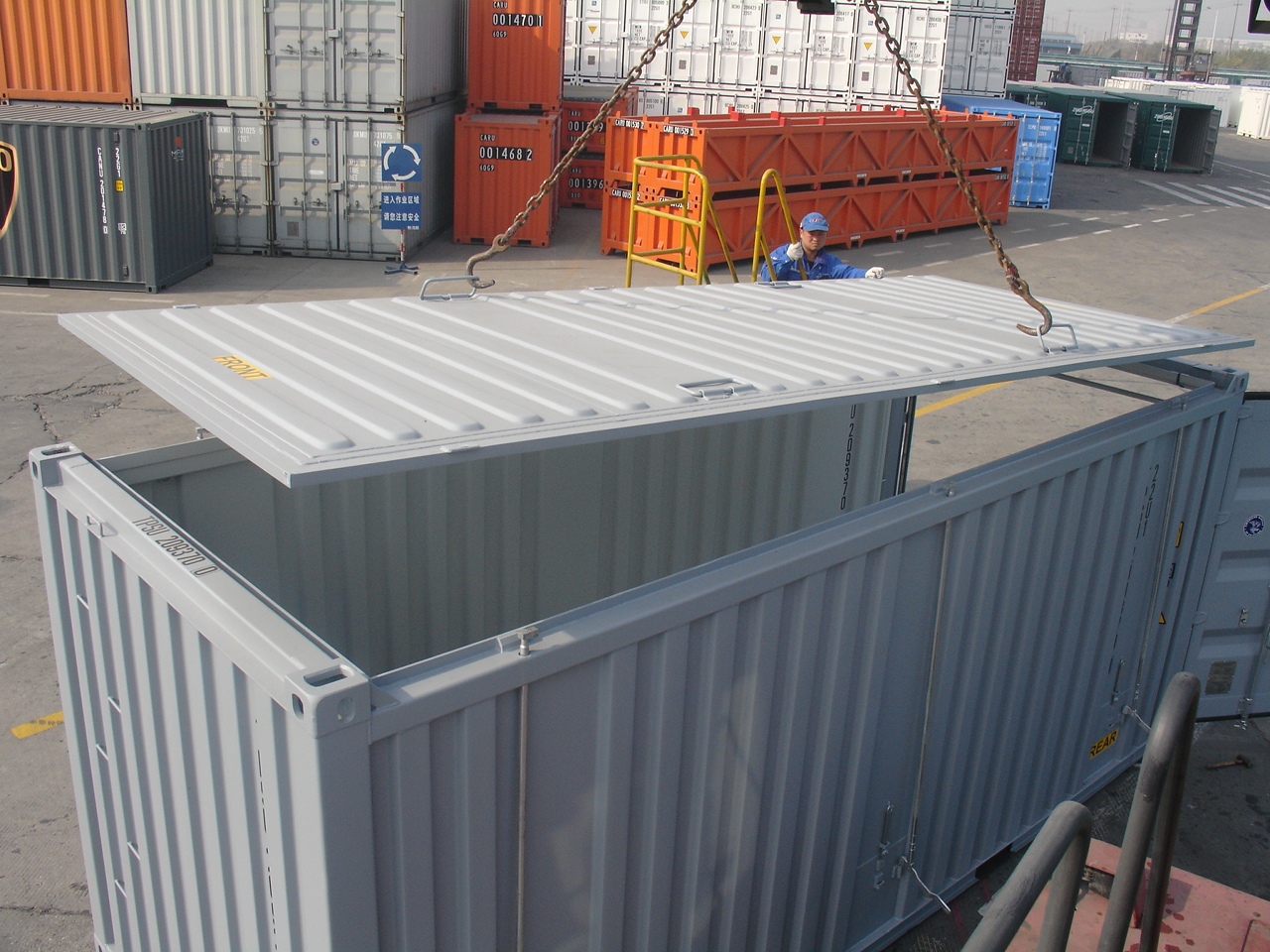 Hard Top Open Top Shipping Container
