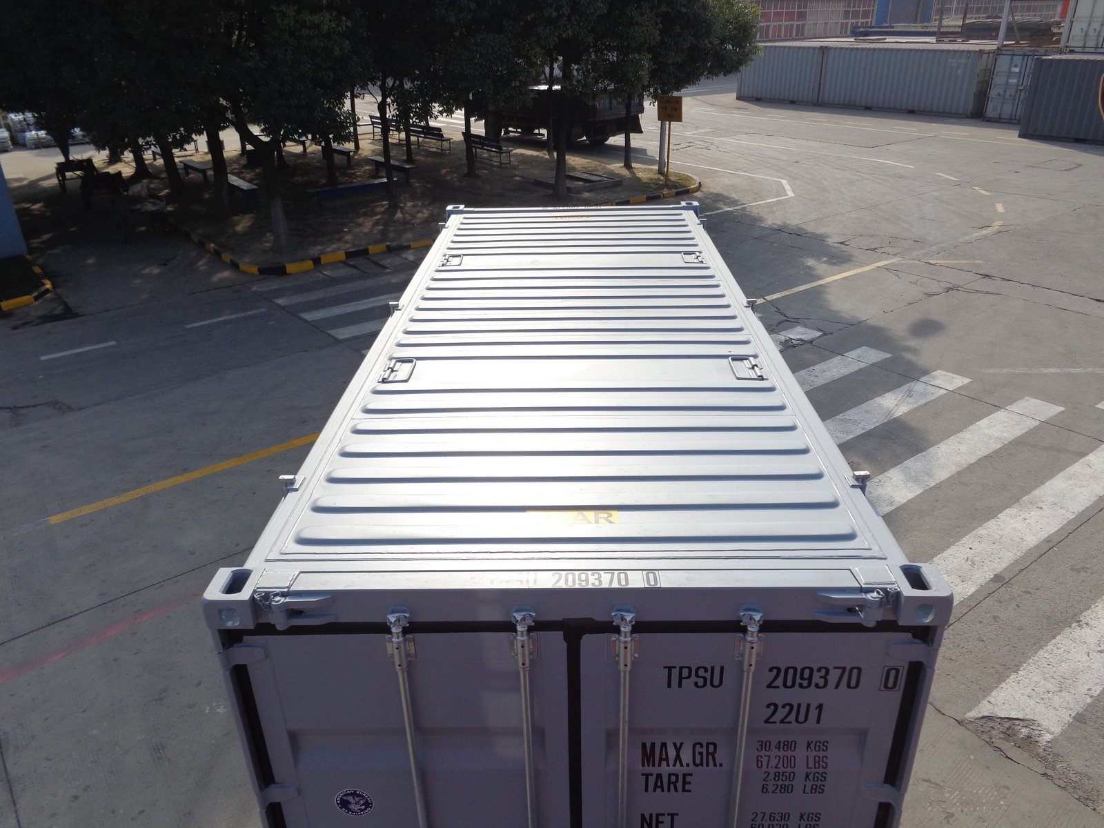 Hard Top Open Top Cargo Container