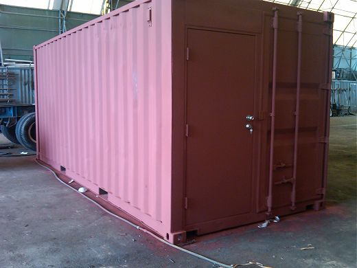 Basic Modified Cargo Container