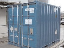 Intermodal Container Type 10' NC04/2005 IP2 & IP3 Type A