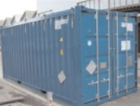 Intermodal Container Type 20' HT/OT NC6/2005 IP2 & IP3 Type A