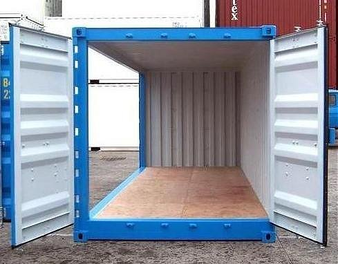 20′ Storage Container with FSA (Full Side Access)