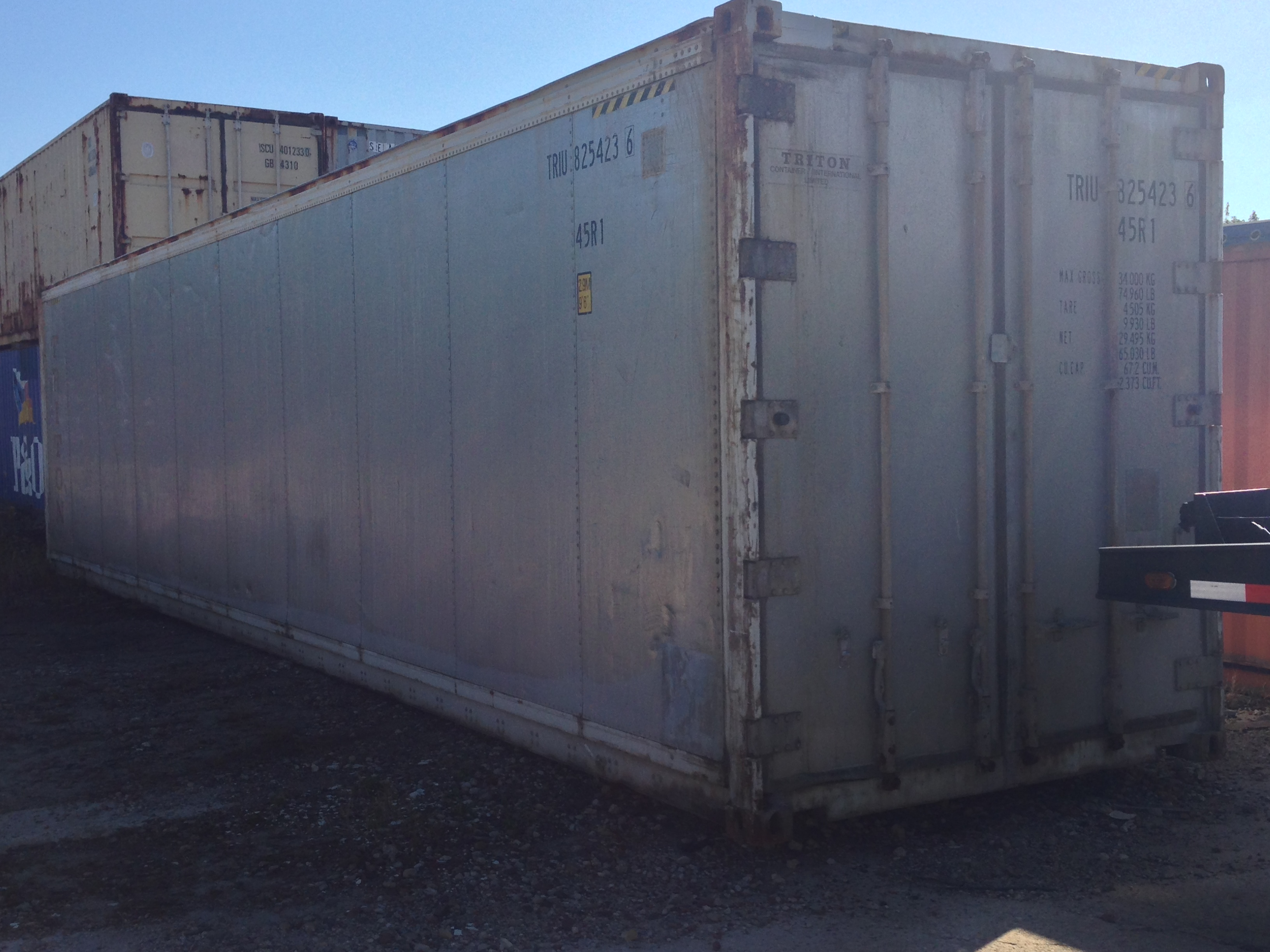 Used 40′ Refrigerated Shipping Container