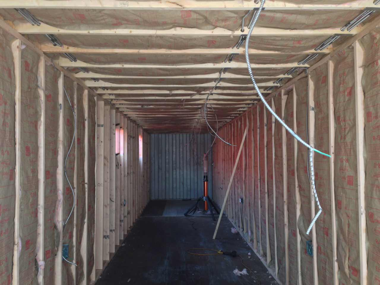 Custom Modified Shipping Container