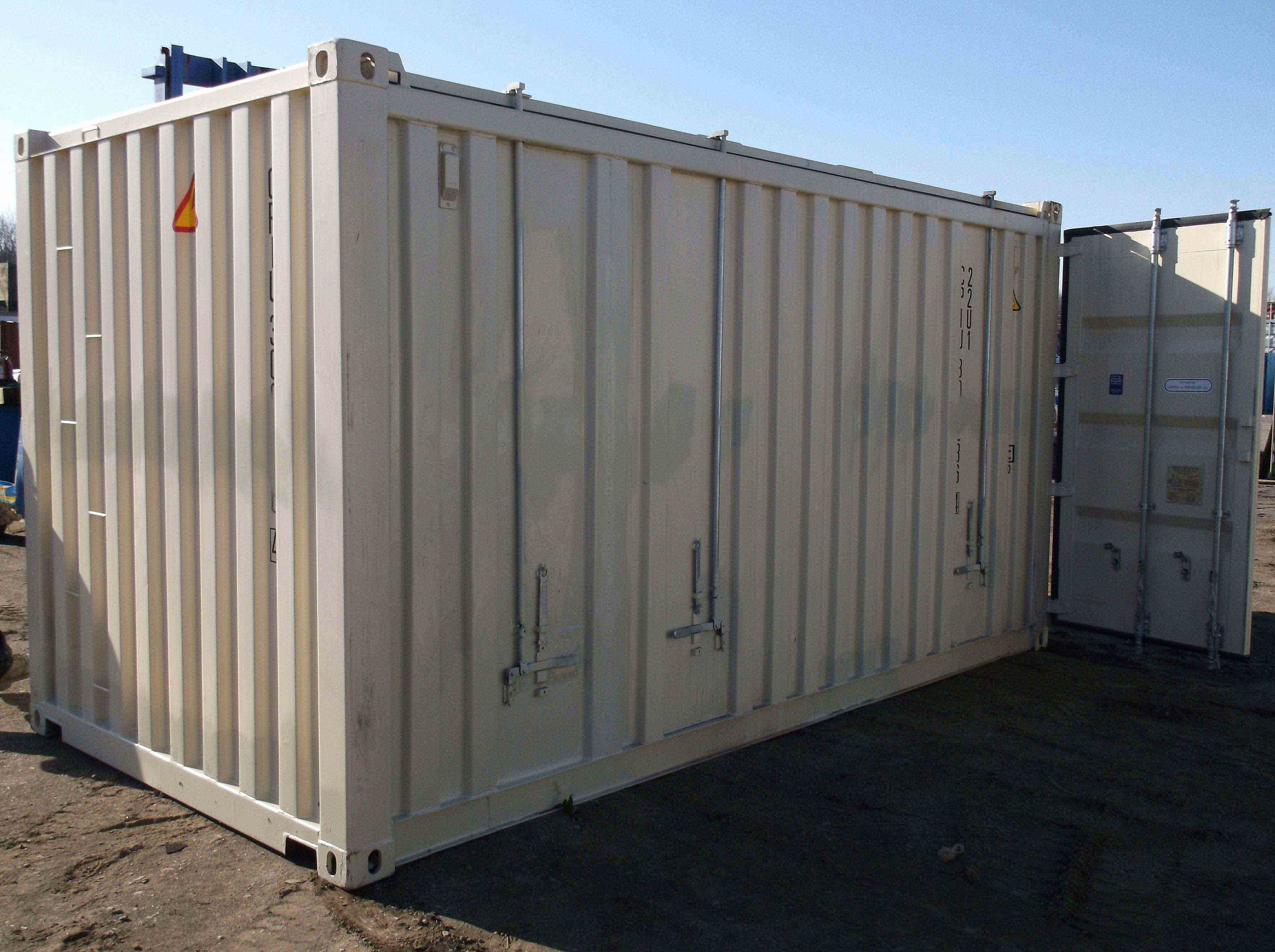 Used 20 ft Hard Top Open Top Container
