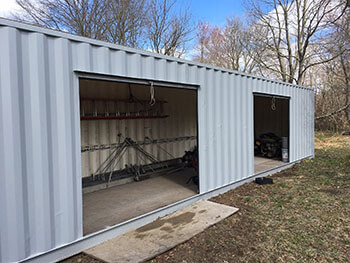 Modified Shipping and Cargo Containers - Transport Planning