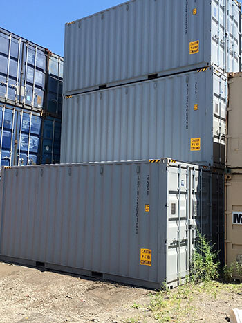 20′ High Cube Shipping Containers